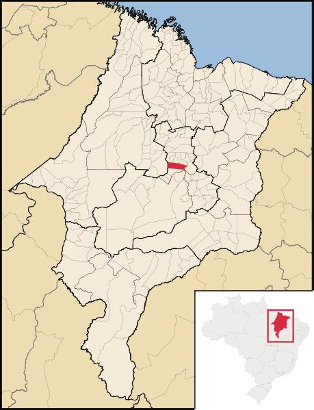 mapa Poção de Pedras