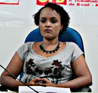 Gisele Leal - Coordenadora do SIMPROESEMMA/Pedreiras (Foto: internet)