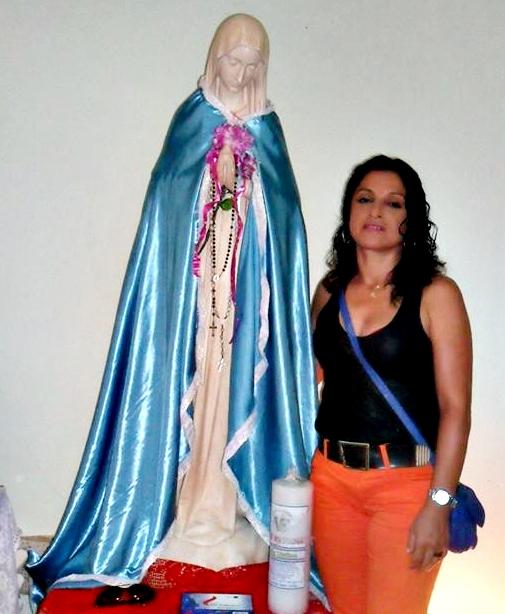 Sara Barreto - Romeira (Foto: Facebook)