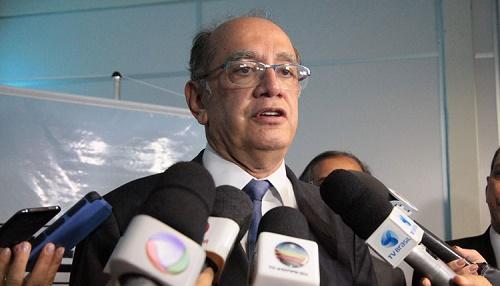 Gilmar Mendes citou informação que teria sido repassada por Flávio Dino (Foto: Flora Dolores / O ESTADO)