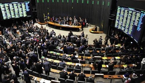 Maioria dos deputados votou a favor da PEC 241 (Foto: Zeca Ribeiro/Câmara dos Deputados)