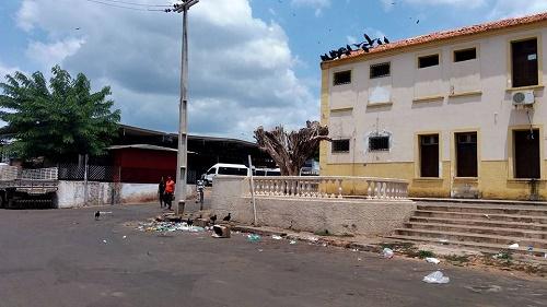Palácio Municipal (Memorial João do Vale) (Foto: leitor do Blog)