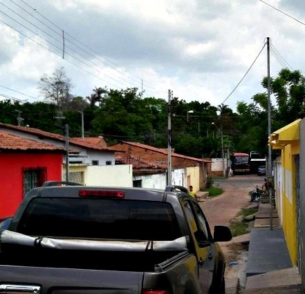 Rua dos Girassóis - Conjunto Primavera (Foto: Fabrício Led)