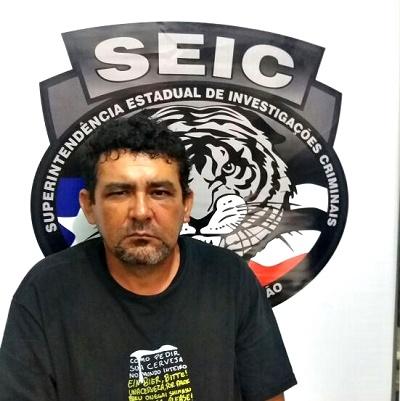 Raimundo Belarmino - Suspeito (Foto: SEIC)