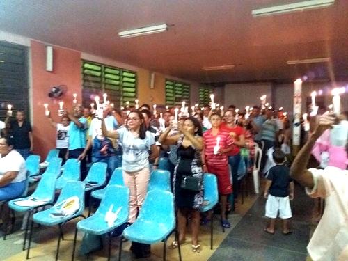 Encontro de líderes comunitários em Pedreiras (Foto: Padre José Geraldo)