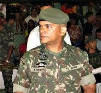 Subtenente Lobato - Chefe de Instrução do TG 08 008 de Pedreiras - MA (Foto: Sandro Vagner)