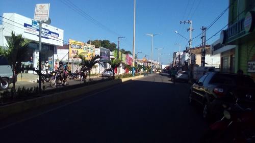 Avenida Rio Branco - Pedreiras/MA