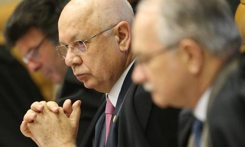 O ministro Teori Zavascki durante a sessão no Supremo Tribunal Federal - Andre Coelho / Agência O Globo / 27-10-2016