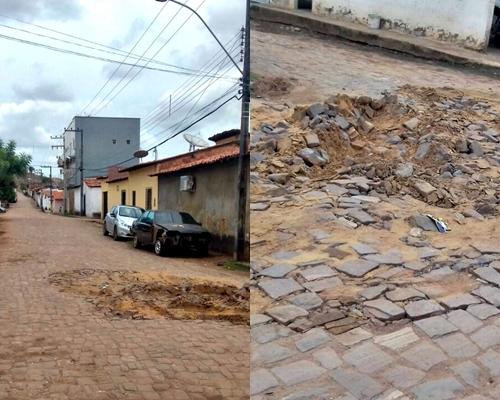 Avenida 02, Parque das Palmeiras - Pedreiras (Fotos: Moradora)