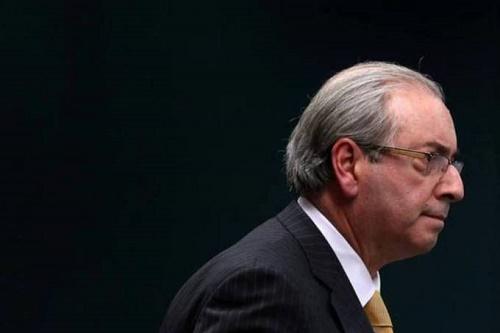 Ex-deputado federal Eduardo Cunha - Momento da prisão (Foto: Divulgação)