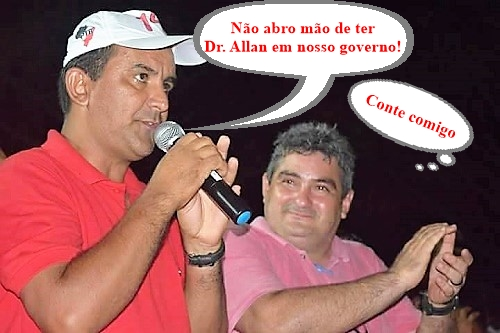 Antônio França (Prefeito eleito de Pedreiras) e Dr. Allan Roberto (Futuro Sec. de Articulação Política de Pedreiras/MA)/Foto: Facebook Dr. Allan Roberto