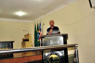 Raimundo Silva -Organizador da reunião (Foto: Marcos Lima)