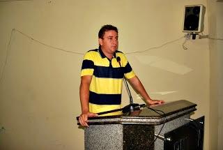 Thadeu - Secretário de Infraestrutura de Lima Campos (Foto: Marcos Lima)
