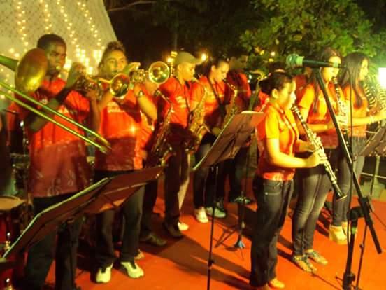 Banda João Menezes em apresentação na Cidade de Caxias-MA/ Foto: arquivo pessoal
