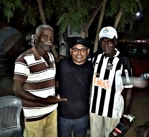 Sr. Domingos, Manoel Silva e Sr. Ribinha