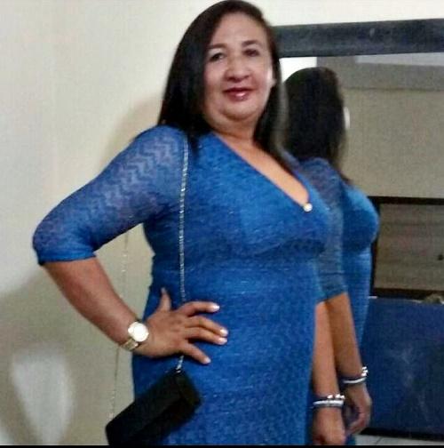 """Doralice da Silva Nascimento """"Dora"""" - vítima (Foto: WhatsApp)"""