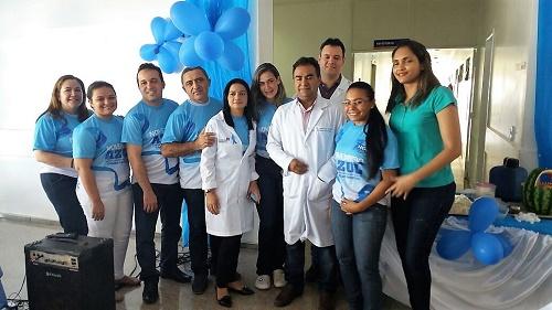 Equipe do Hospital Geral de Peritoró/Foto: HGP