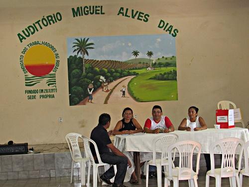 Eleição no STTR/Pedreiras/Foto: Sandro Vagner