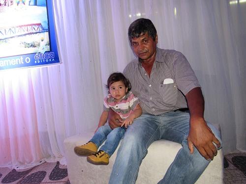 João Luca e Tio Tonho/Foto: Sandro Vagner