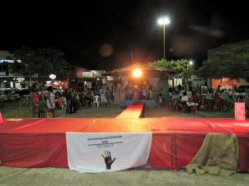 Noite Afro-Cultural - Praça do Jardim em Pedreiras/Foto: Sandro Vagner