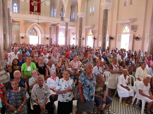 Missa dos idosos e dos enfermos/Foto: Sandro Vagner
