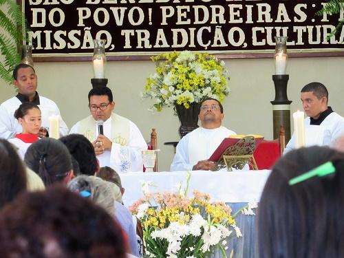 Padre Pedro e Padre Antônio/Foto: Sandro Vagner