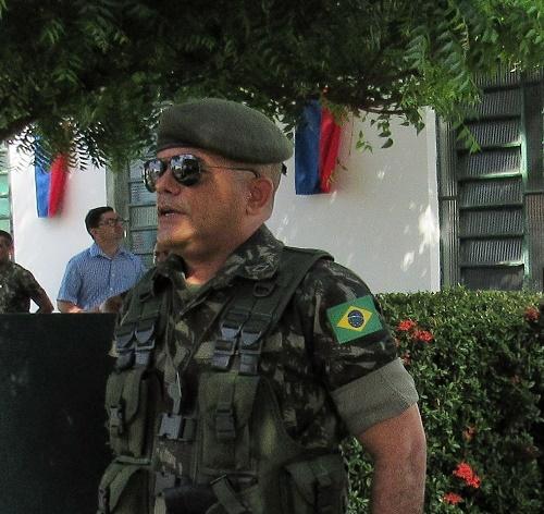 Subtenente Lobato - Instrutor do TG/Foto: Sandro Vagner