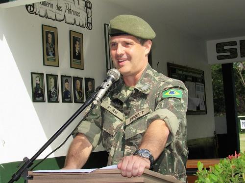 Tenente-coronel Paquet/Foto: Sandro Vagner
