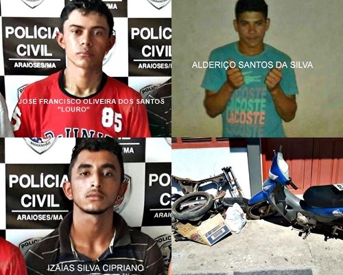 Fotos: Polícia Civil/Araioses - MA