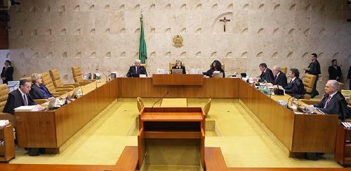 CRIMINALISTAS RECLAMAM QUE A DECISÃO DO STF FERE O PRINCÍPIO DA PRESUNÇÃO DE INOCÊNCIA FOTO: NELSON JR./SCO/STF
