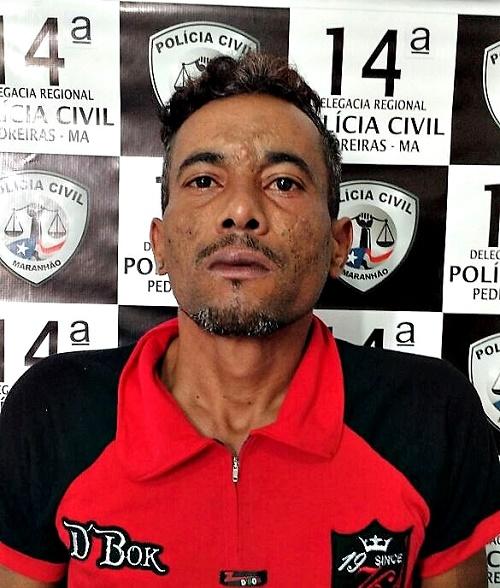 Francisco Lima dos Santos - Conduzido/Foto: Polícia Civil de Pedreiras